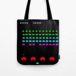 Invaders game Tote Bag