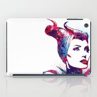 maleficent iPad Cases featuring Maleficent by lauramaahs
