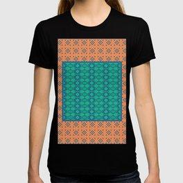 Bohemian Ethnic Mosaic Pattern T-shirt