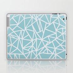 Ab Outline Salt Water Laptop & iPad Skin