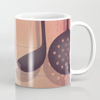 boobs Mugs featuring Boobs Kitchen by Davide Bonazzi