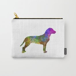 Slovakian Hound in watercolor Carry-All Pouch