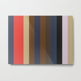 IRRESISTIBLE Abstract Patte Metal Print