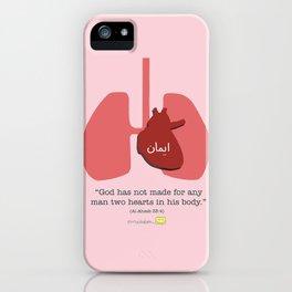 Muslim Anatomy - Heart iPhone Case
