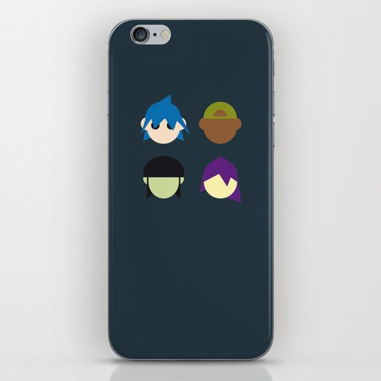 Famous Capsules - Gorillaz iPhone & iPod Skin