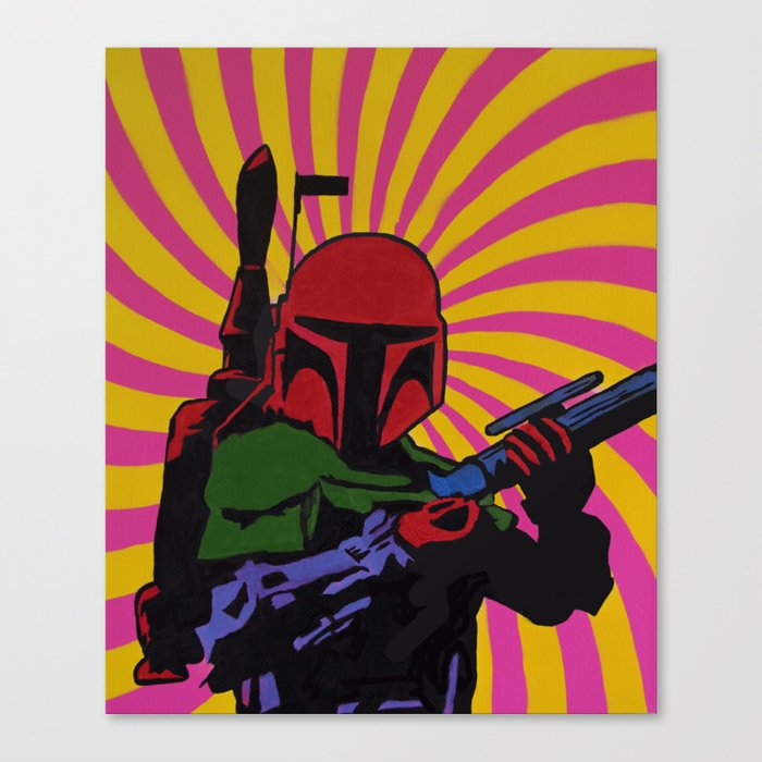 The Boba Fett Experience  Canvas Print