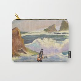 S l a s h  in the ocean Carry-All Pouch