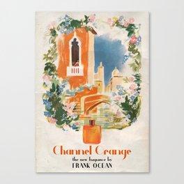 CHANNEL ORANGE Canvas Print