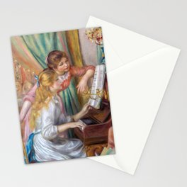 Auguste Renoir - Girls at the Piano Stationery Cards