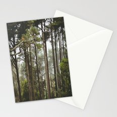 early morning Trees Stationery Cards