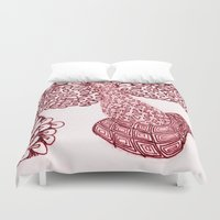 anchorman Duvet Covers featuring Anchorman by Lady Tanya bleudragon
