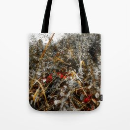 The Cold Heart of February Tote Bag