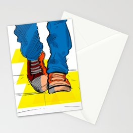 Follow the yellow brick road Stationery Cards