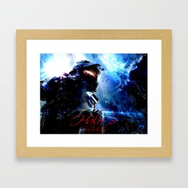 halo5 Framed Art Print