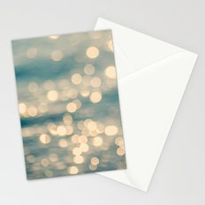 Sunlight Dancing on the Sea Stationery Cards