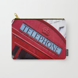 Retro Telephone Booth (#Retro #Telephone) Carry-All Pouch