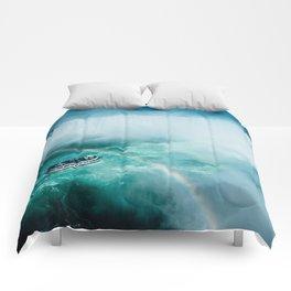 Niagara Falls Rainbow Comforters