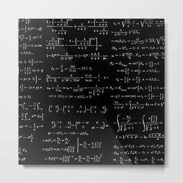 Math Apparel Metal Print