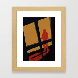 Film Noir Framed Art Print