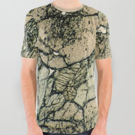 Garnet Crystals All Over Graphic Tee