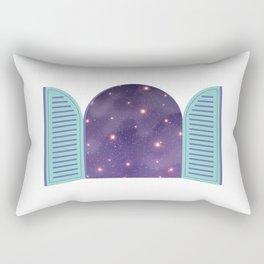 Universe from Window_02 Rectangular Pillow