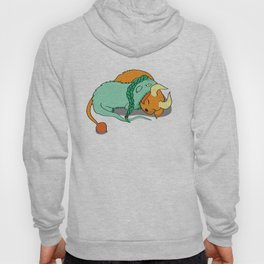 Dinku and Furret Hoody