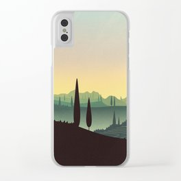 Tuscany Fairytale Clear iPhone Case