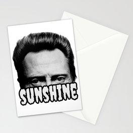Walken on sunshine Stationery Cards