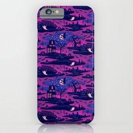 Halloween Night - Mystic Violet  iPhone Case