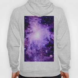 Orion nebUla. : Purple Galaxy Hoody