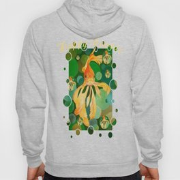 Happy Nowruz Persian New Year Goldfish In Green Sea Hoody