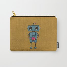Sad Robot Carry-All Pouch