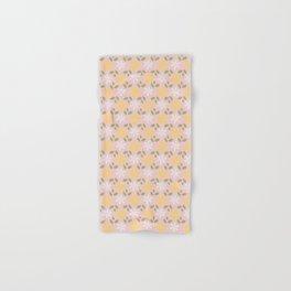 Spring Pastel Pink Daisy Flowers Hand & Bath Towel