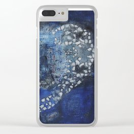 Heart Sutra Clear iPhone Case