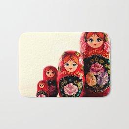 Babushka Russian Doll Bath Mat