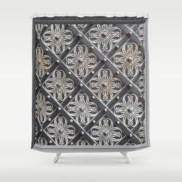 Metallic And Decorative - Grey Monochrome #decor #society6 #buyart Shower Curtain