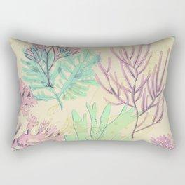 Pastel seaweed pattern. Rectangular Pillow