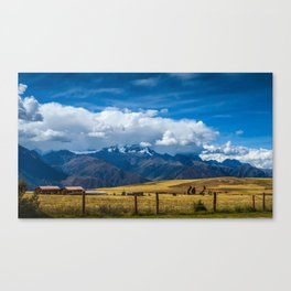Andes Mountains Canvas Print