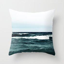 Turbulent Throw Pillow