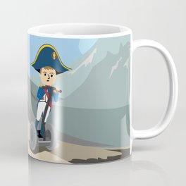 Napoleon Segways the Alps Coffee Mug