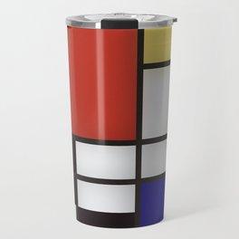 Piet Mondrian Travel Mug