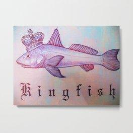 King Fish Metal Print
