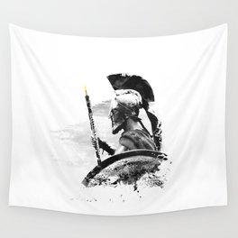 Oboe Warrior Wall Tapestry