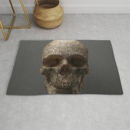 Golden Skull Triangles 1 Rug