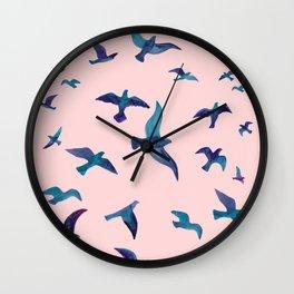 Birds II Wall Clock