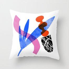 Blobby no. 2 Throw Pillow