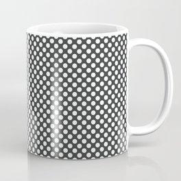 Pirate Black and White Polka Dots Coffee Mug