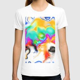 Vivid bright fractal 1 T-shirt