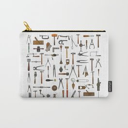vintage tools collage Carry-All Pouch