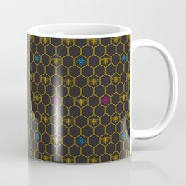 Bee Blossoms Coffee Mug